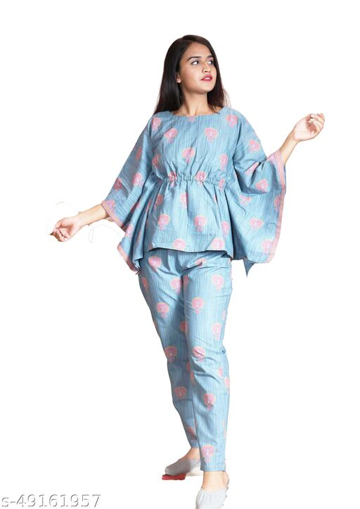 Classic Partywear Women Nightsuit