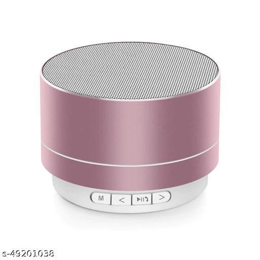 Mini Portable A10 Wireless Bluetooth Speaker Stereo Music Loudspeaker Rose Gold