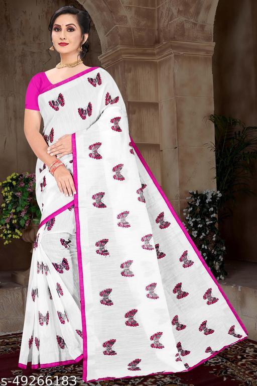 Fancy Digital Printed festival saree