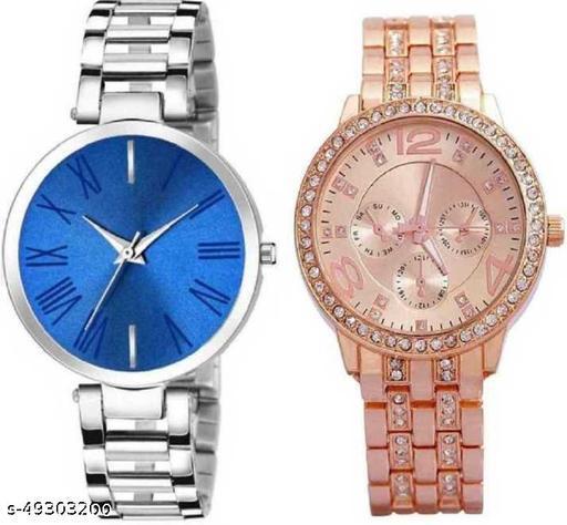 Attractive Women Analog Watches