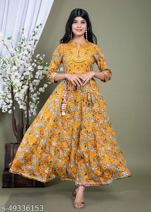 Jivika Refined Women Gown