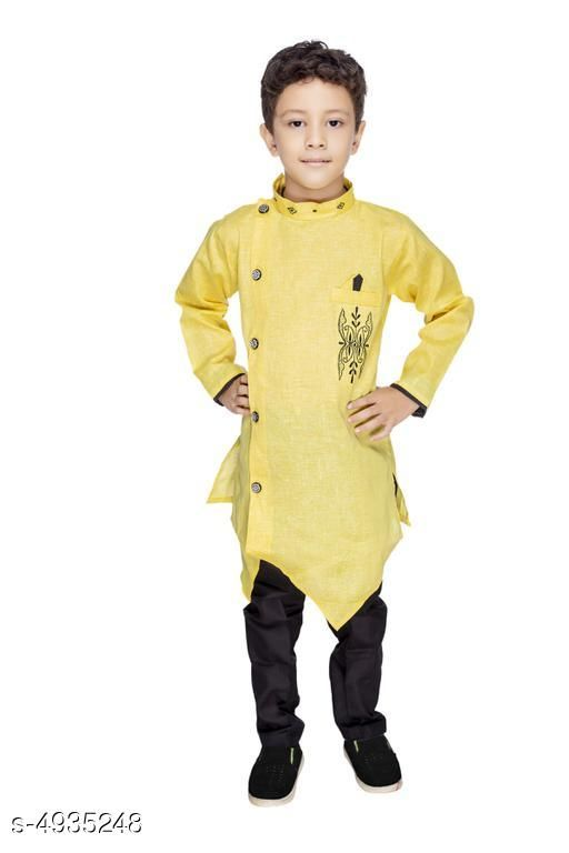 Ethnic Kid's Boy's Kurta Set