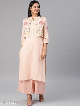 Alena Women's Embroidered Cotton Kurti