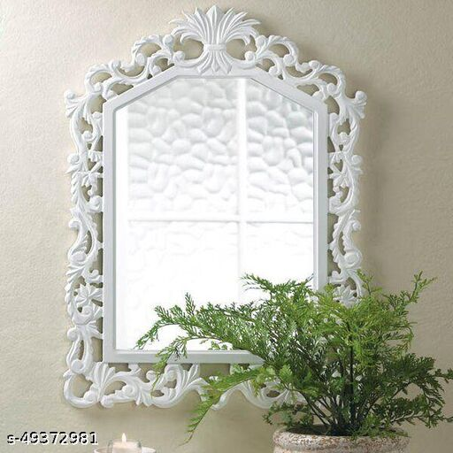 Beautiful hand carved mirror