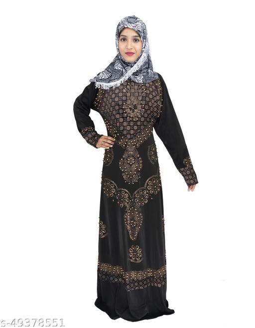 Graceful Women Muslim Wear Abayas