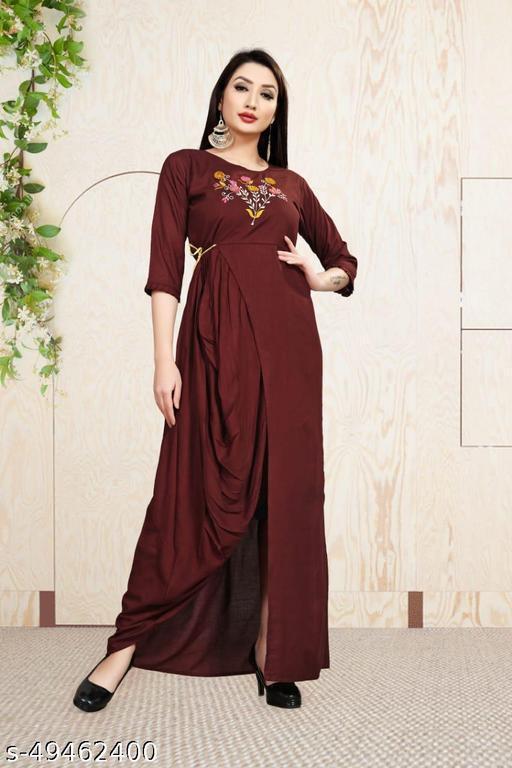 Trendy Latest Women Gowns