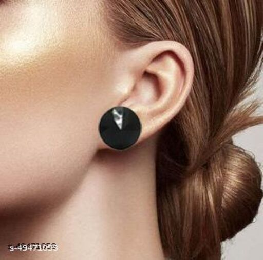 A Beautiful Big Size Stud Earrings For Girls And Women
