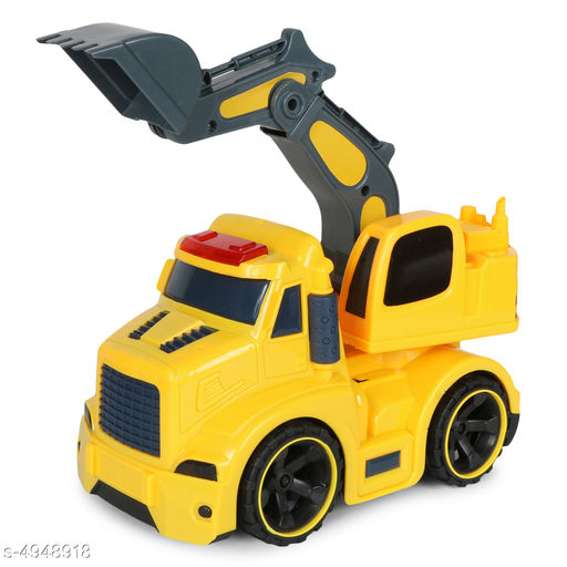 Others Elite Stunning Kid's Toys  *Product Type* Planet of Toys Friction Powered Shovel Excavator Truck Vehicles Toys for Kids with Light & Sound  *Material* Plastic  *Size* (L X W X H) - 20 cm X 17 cm X 11 cm  *Age Group* 3+ Years  *Description* It Has 1 Piece Of Friction Powered Shovel Excavator Truck Vehicles Toys for Kids with Light & Sound  *Color* Yellow  *Sizes Available* Free Size *    Catalog Name: Elite Stunning Kid's Toys CatalogID_724724 C86-SC1296 Code: 914-4948918-