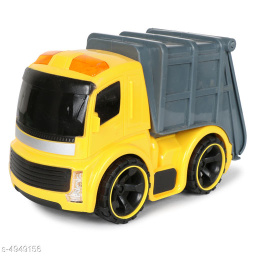 Others Elite Trendy Kid's Toys  *Product Type* Planet of Toys Friction Powered Dump Truck Construction Vehicle Toy for Kids with Light & Sound  *Material* Plastic  *Size* (L X W X H) - 23 cm X 13 cm X 17 cm  *Age Group* 3+ Years  *Description* It Has 1 Piece Of Friction Powered Dump Truck Construction Vehicle Toy for Kids with Light & Sound  *Color* Yellow  *Sizes Available* Free Size *    Catalog Name: Elite Trendy Kid's Toys CatalogID_724770 C86-SC1296 Code: 514-4949156-