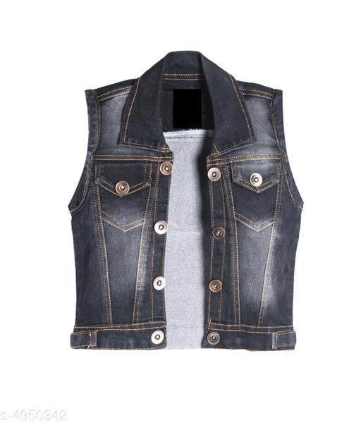 Trendy Denim Kid's Boy's Jacket