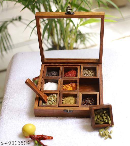 Modern Spice Box