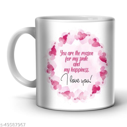 Indian tag Ceramic Coffee Mug for Valentines Day|Gift for Your Special One ITVT-MG85