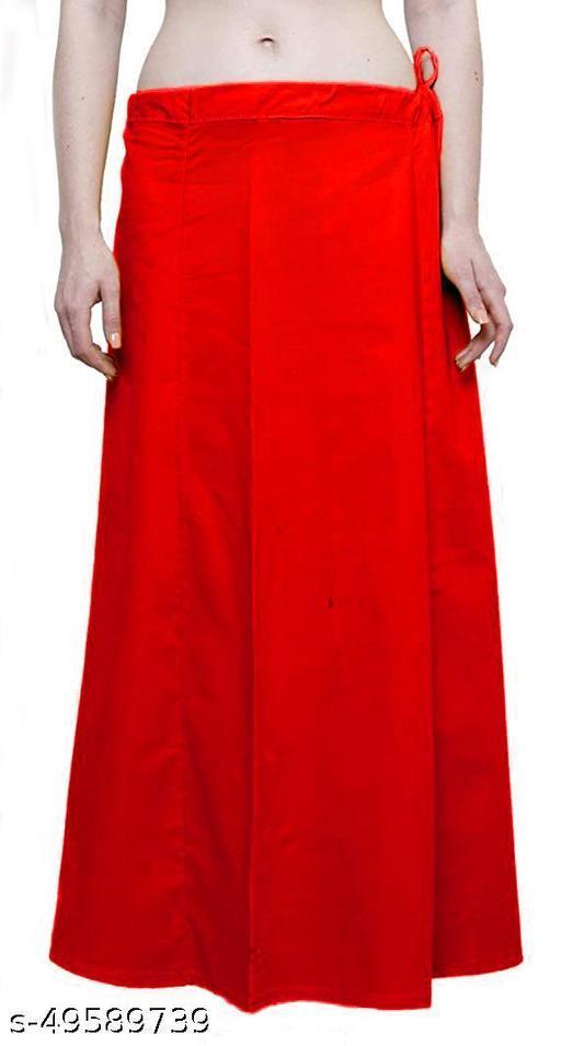 Namita Women's Pure Cotton Petticoats, Saree Underskirt, Saya, Waistcincher