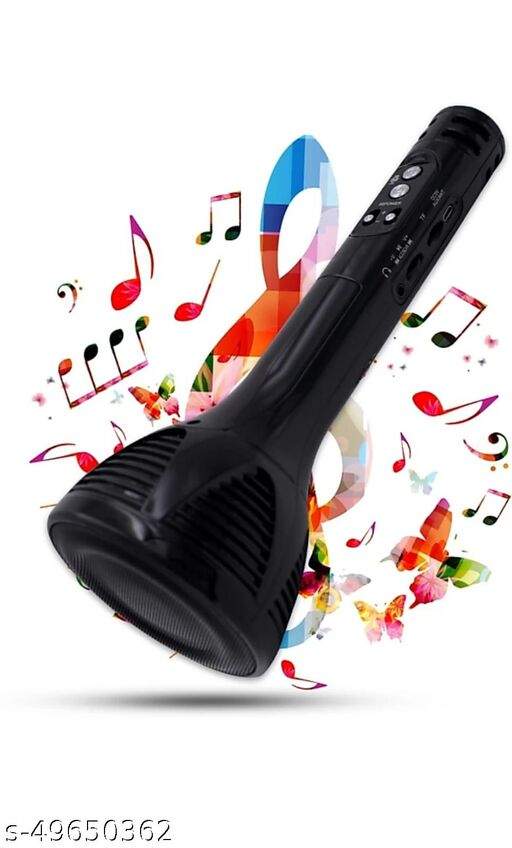 Wireless Bluetooth Singing Kareoke Mic with Speaker and Recording Function in Superior Sound Quality