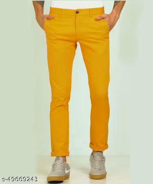 TRENDZ ROVER PARTY WEAR 4 WAY LYCRA PANTS TROUSER FOR MENS