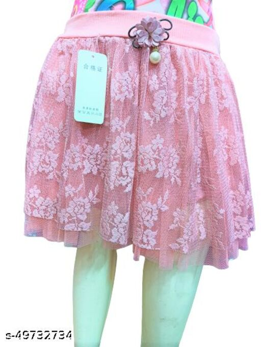 Agile Trendy Kids Girls Skirts