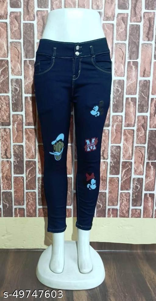 Fancy Feminine Women Jeans