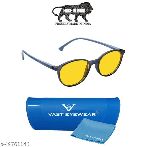 VAST Day And Night Vision Driving Glasses | Blue Ray Blocking And Gaming Glasses For Men Boys Sunglasses