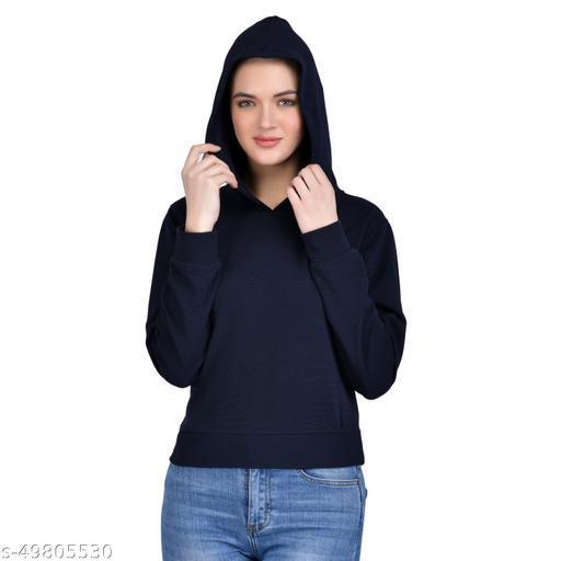 Leeway International Women's Black Hoodie/Sweatshirt