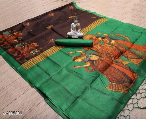 RekhaManiyar Trendy Art Silk women's Saree