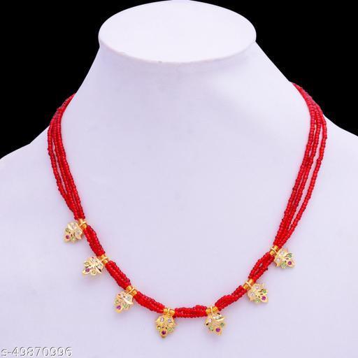 sleek rajputi necklace