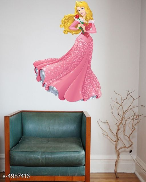 Madhuban Décor Cartoons Wall Sticker For home And Kids Room