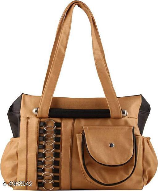 Trendy Women's Brown Handbag