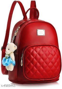Beautiful Women's Red Backpacks