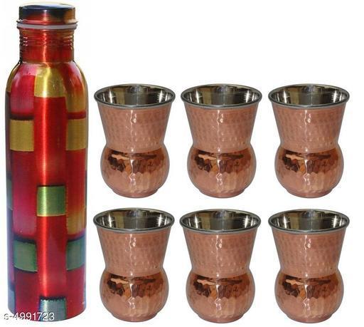Classic Copper Bottles & Glasses