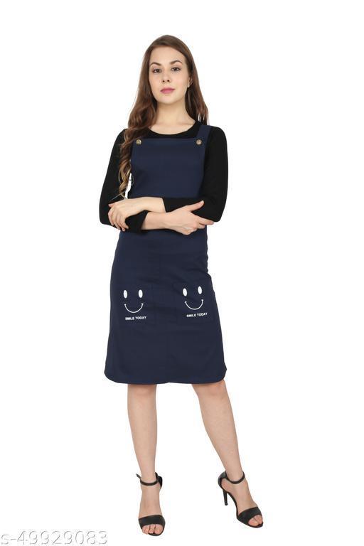 NAVY BLUE SMILEY Dresses