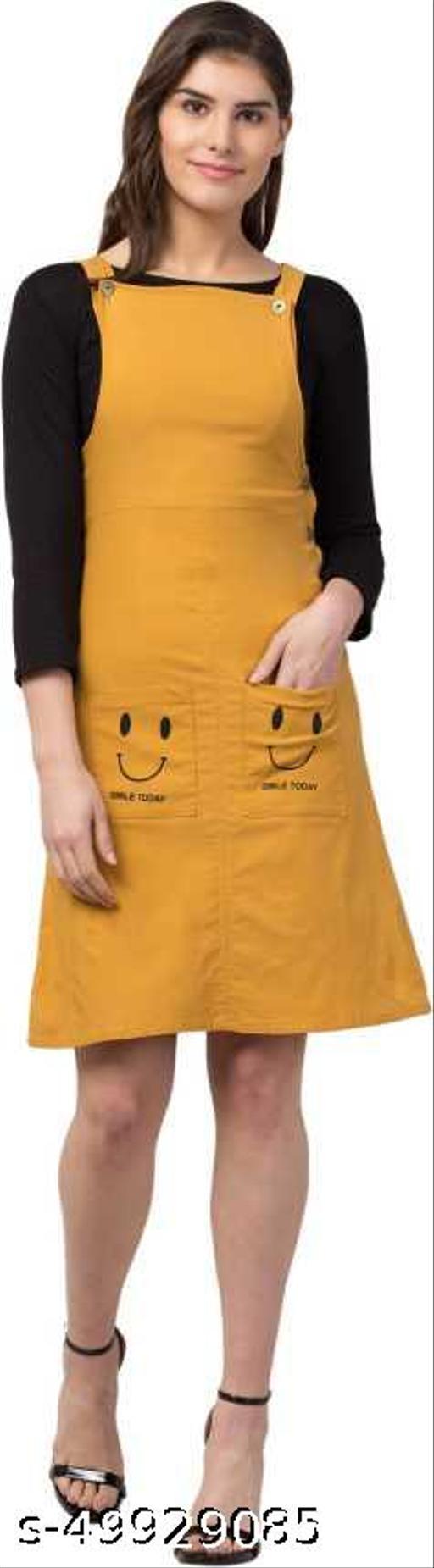 MUSTARD SMILEY Dresses