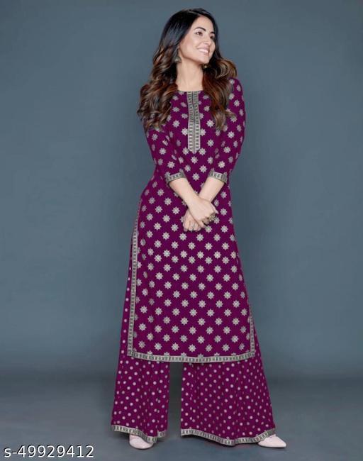 Trendy Fashionable Women Kurta Sets