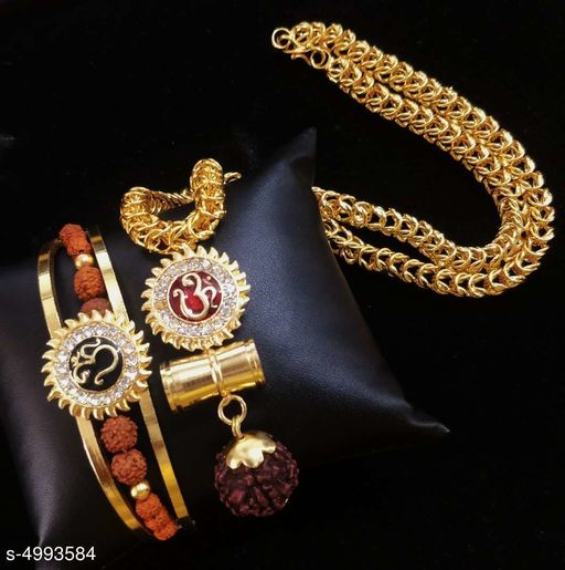 Trendy Men's Bracelet & Chains