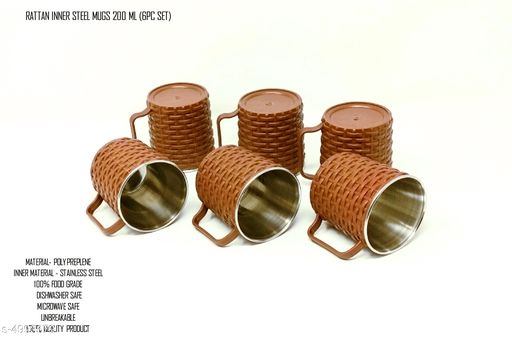 Stylish Designer Coffee Mug (Pack Of 6)