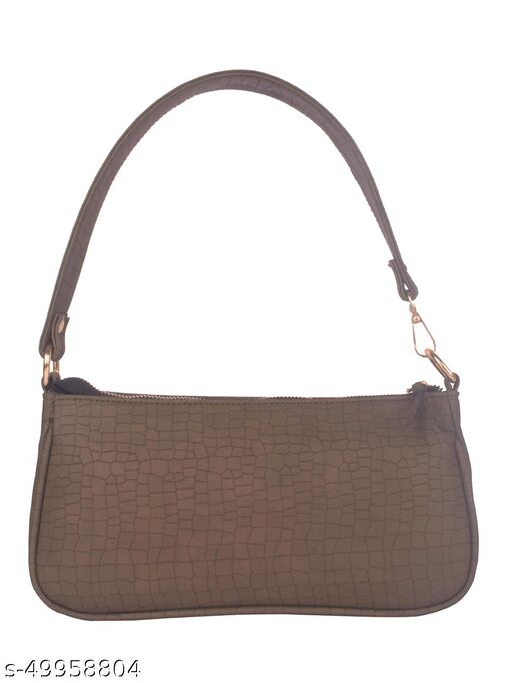 Green PU Shoulder Bag