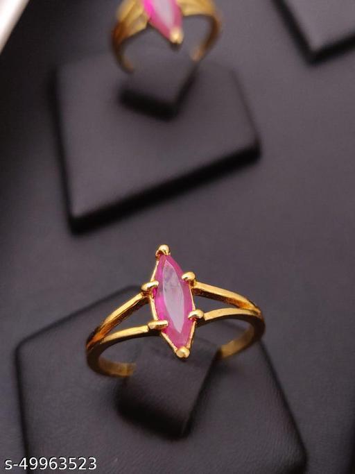 Sizzling Glittering Rings