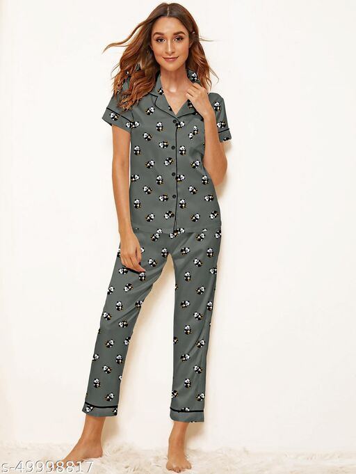 Divine Fashionable Women Nightsuits