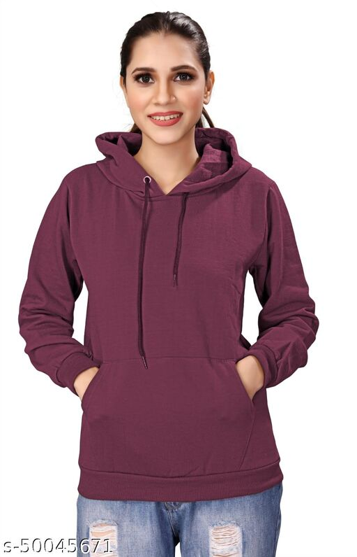 Stylish Elegant Women Sweatshirts