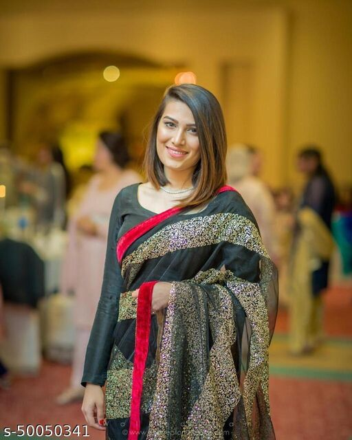 Designer fancy bollywood festival saree