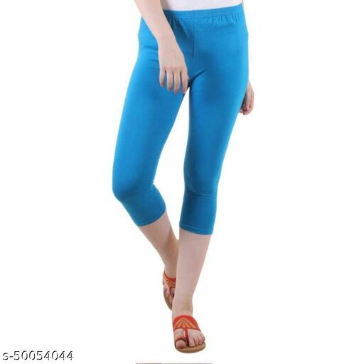PI World Stylish Viscose Capri Women's Legging
