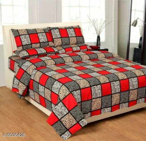 Modal Polycotton 90X90 Double  Bedsheets