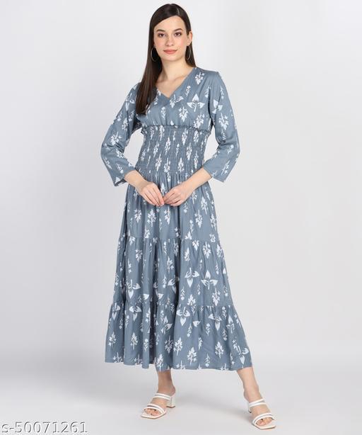 Urbane Printed Bobin Gowns
