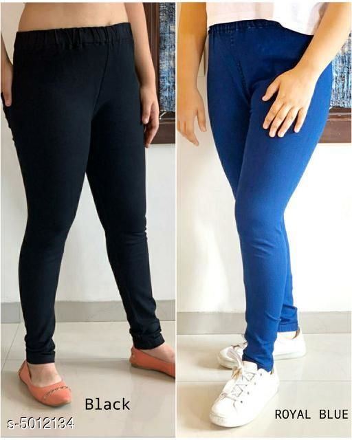 Sia Attractive Women's Jeggings ( Pack Of 2 )