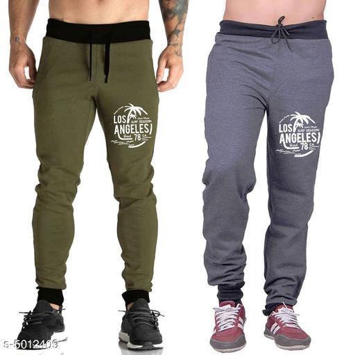 Men's Trendy Cotton Combo Track Pants