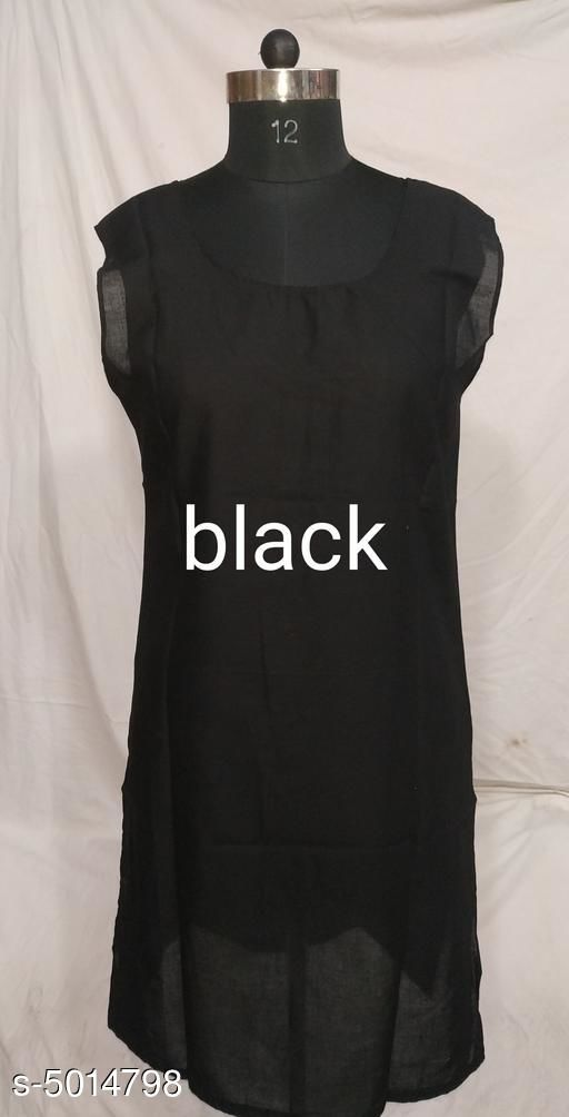 Comfy Women's Solid Cotton Long Camisole