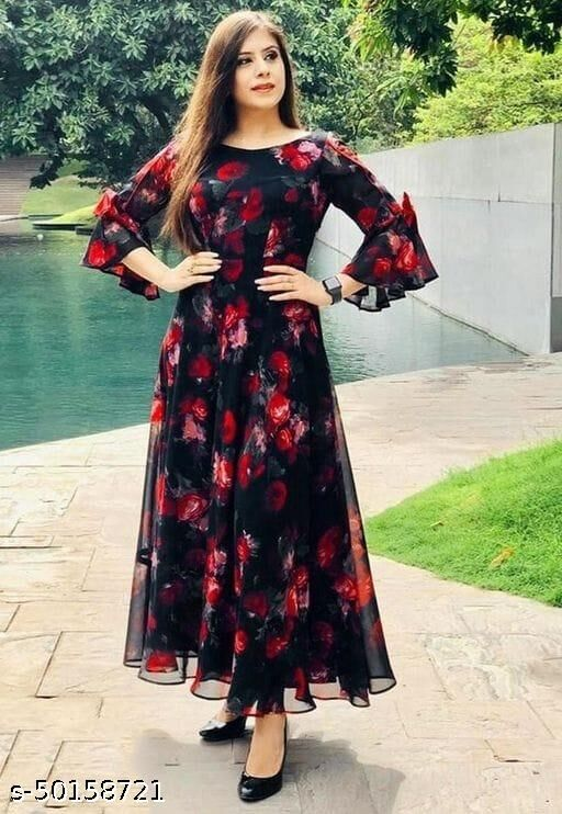 Printed  Gowns New 2021