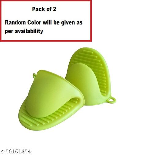 Oven Gloves Mittens for Kitchen Heat Resistant Small Mitts for Baking and Cooking, Potholders Pinch Grip,