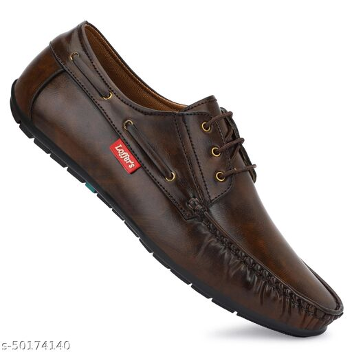 STEPFEET Men's Synthetic Leather Derby  Loafers