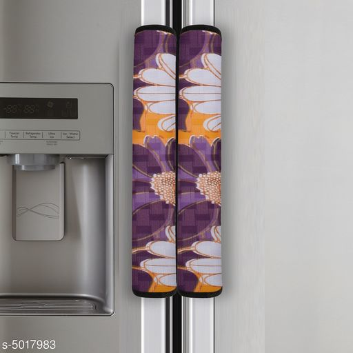 Buy Fridge Covers Stylish Fridge Handle Cover For Rs191 Cod And Easy Return Available