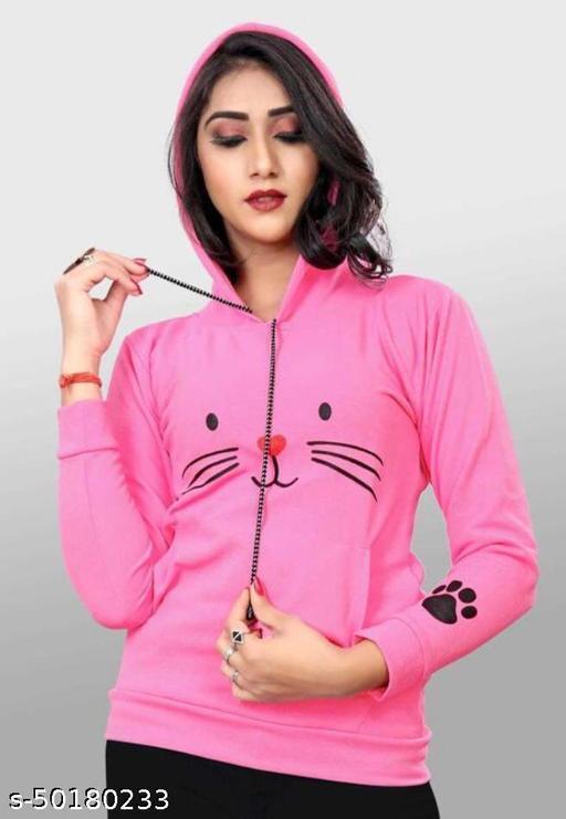 Stylish Feminine Women Sweatshirts